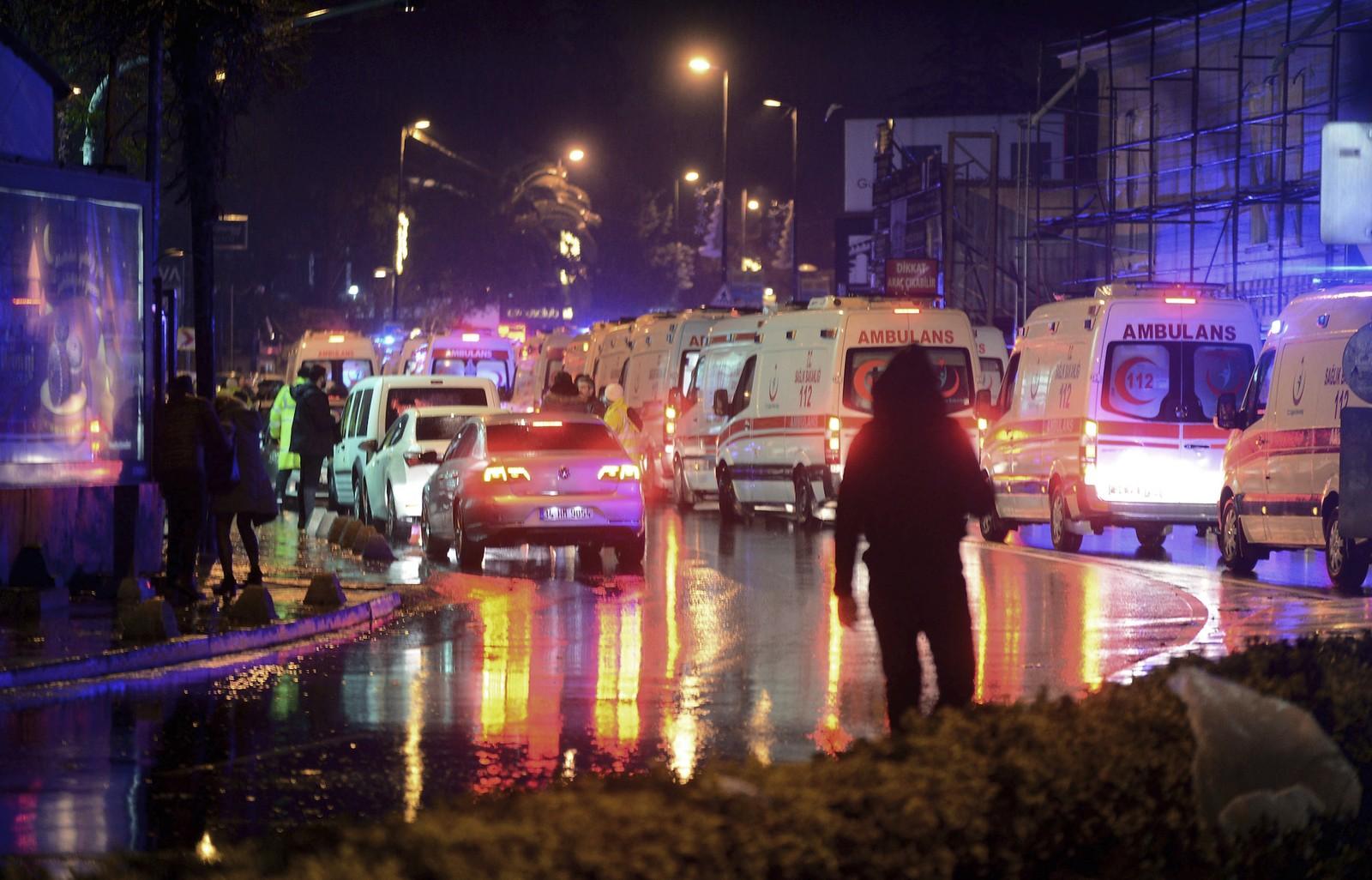 Теракт в турции в новый год