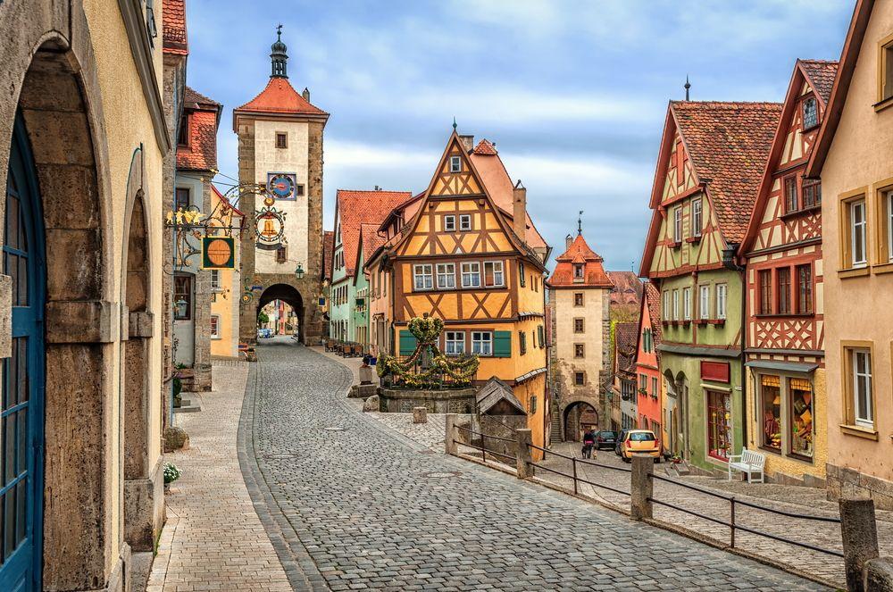 Топ-10. Самые красивые города Германии
