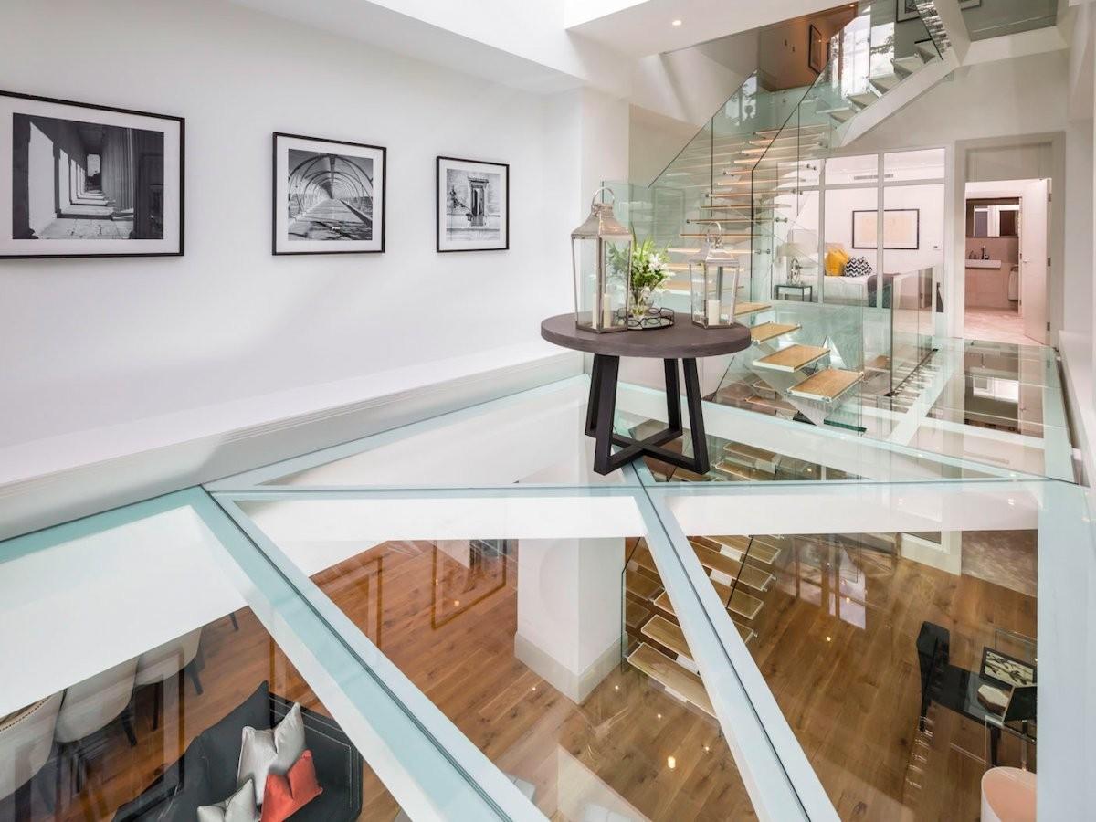 All interno della casa londinese da sterline a for Interno della casa