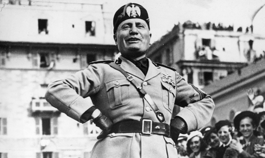 the political ideology of fascism and how benito mussolini and adolf hitler advocated the political