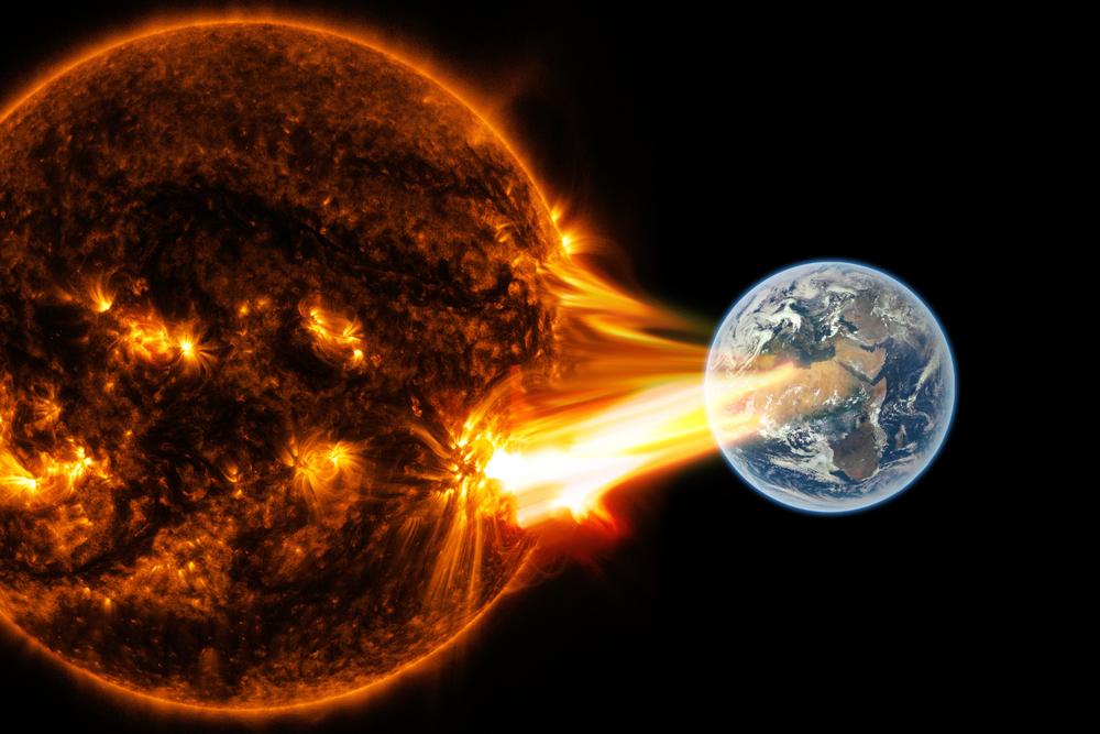 Солнечная вспышка приведет к убыткам на 2 трлн долларов