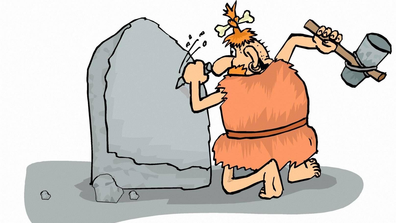 Пещерные люди картинки смешные