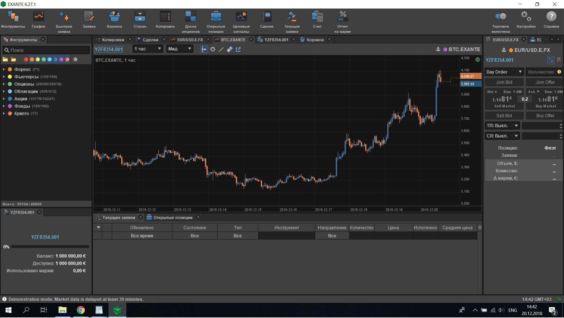 EXANTE Investment Company Review | Finance | ihodl com
