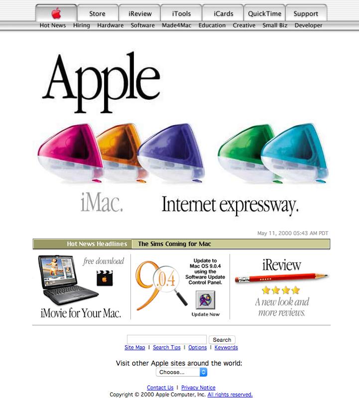 Дизайн 2000 года