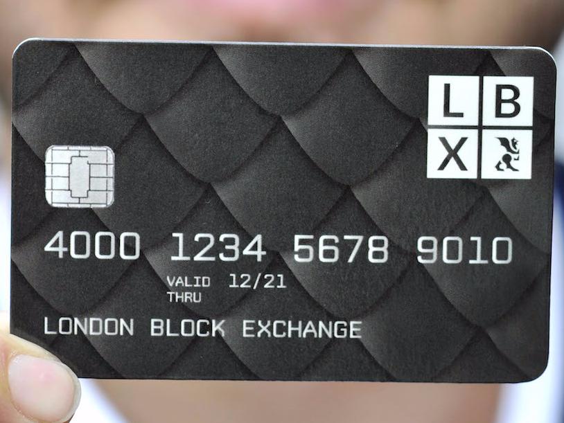 Лондонский стартап выпустил криптовалютную дебетовую карту Visa
