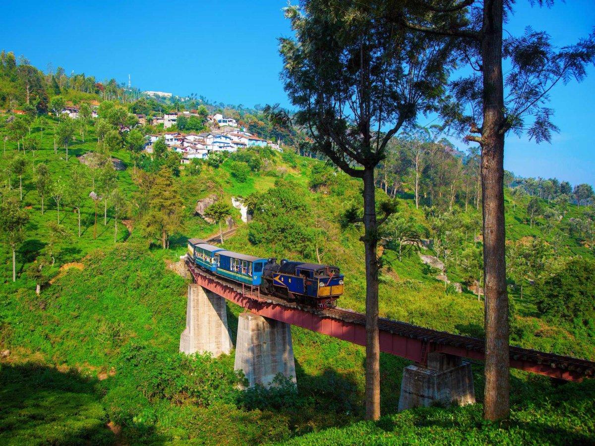 модели фото горных железных дорог в индии становится источником