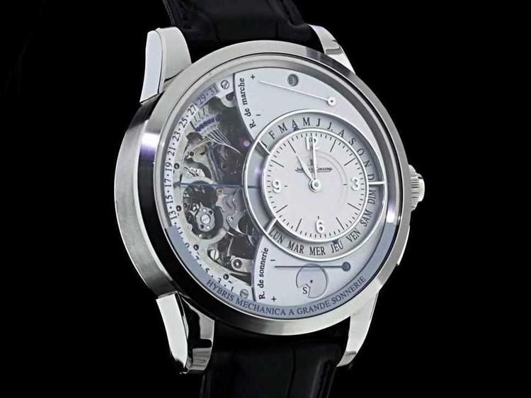 56c53b7bcd9 2. O relógio Hybris Mechanica à Grande Sonnerie de Jaeger-LeCoultre custa  1
