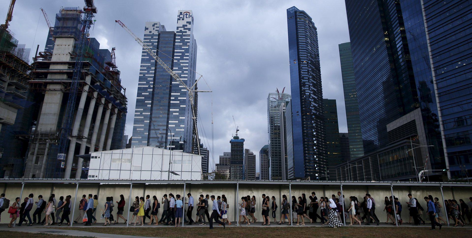 центра Сингапура