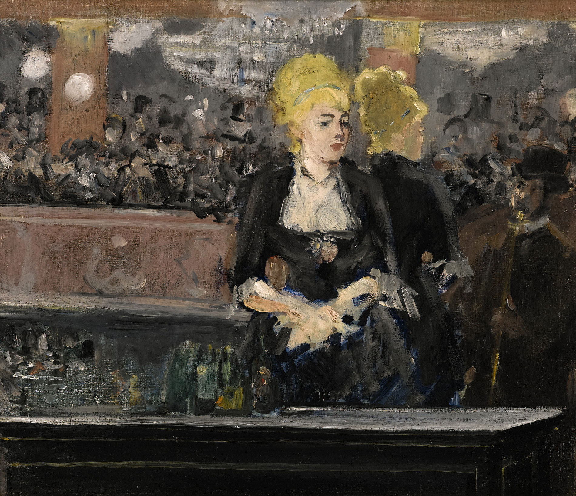 A Bar at the FoliesBergere 1882  Edouard Manet